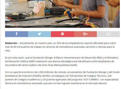 25 03 17 AMPrensa.com J¢venes del GAM se capacitar†n para suplir demanda...